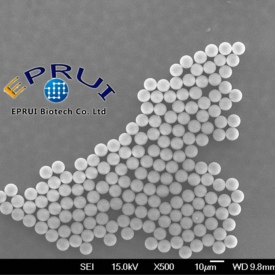 nonfunctionalized silica microspheres